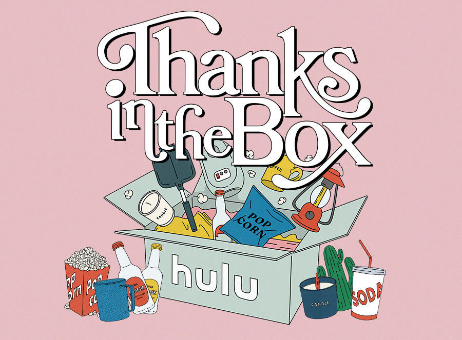 Hulu10周年記念Thanks in the Boxプレゼントキャンペーン応募方法